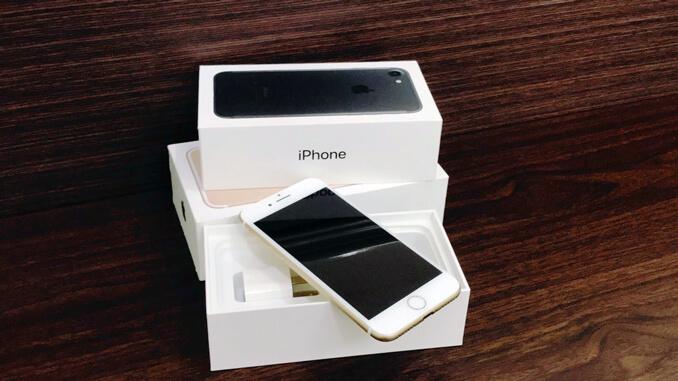 IPHONE 7 128GB 香檳金 -2