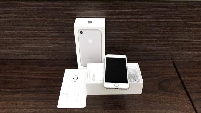 IPHONE 7 128GB 銀色 -2