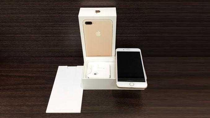 IPHONE 7 PLUS 128GB 香檳金 -1