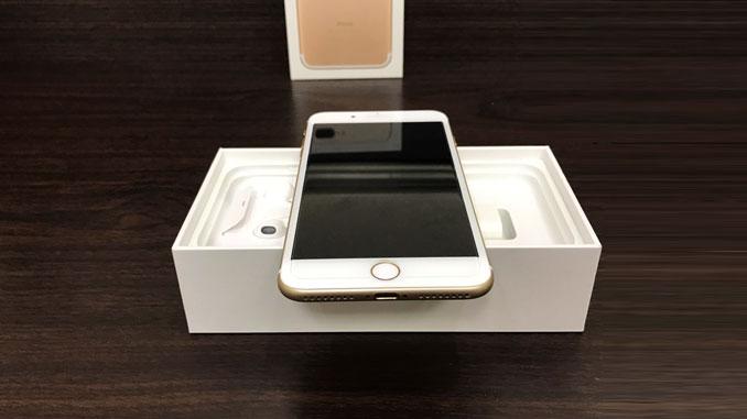 IPHONE 7 PLUS 128GB 香檳金 -4