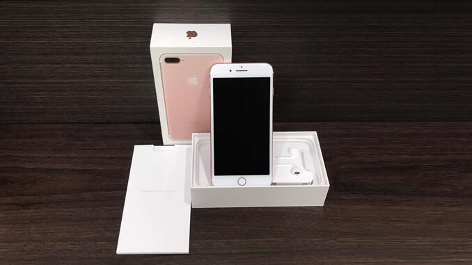 IPHONE 7 PLUS 128GB 玫瑰金 -1
