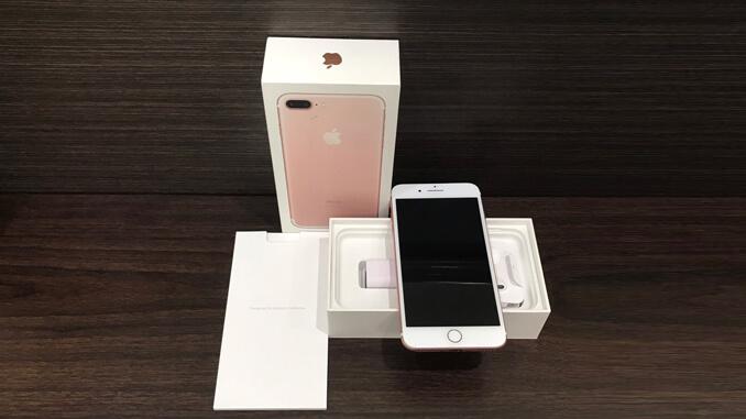 IPHONE 7 PLUS 128GB 玫瑰金 -2