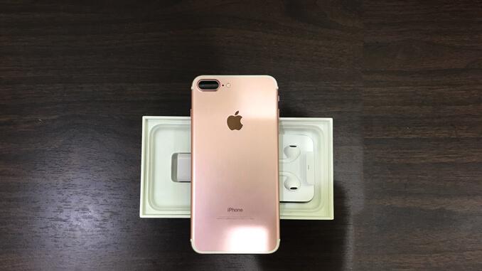 IPHONE 7 PLUS 128GB 玫瑰金 -3