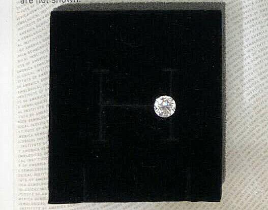 GIA 天然鑽石(圓形裸石) 1.00ct -2