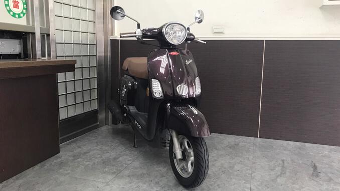 流當機車-摩特動力PGO JBUBU 115 棕色-1