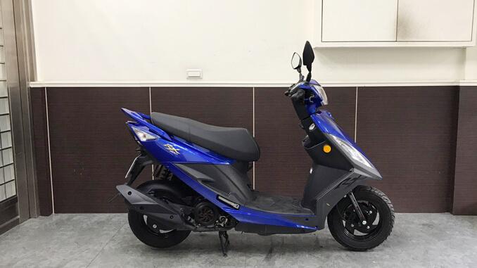 流當機車-三陽SYM RX 110-2
