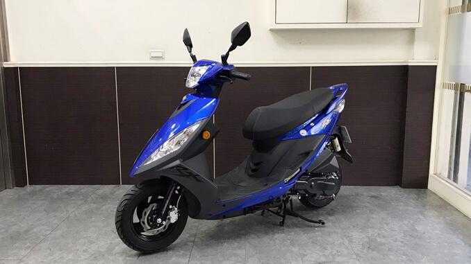 流當機車-三陽SYM RX 110-3