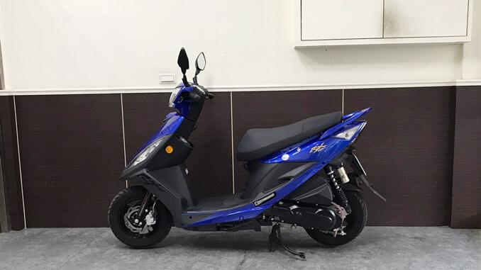 流當機車-三陽SYM RX 110-4