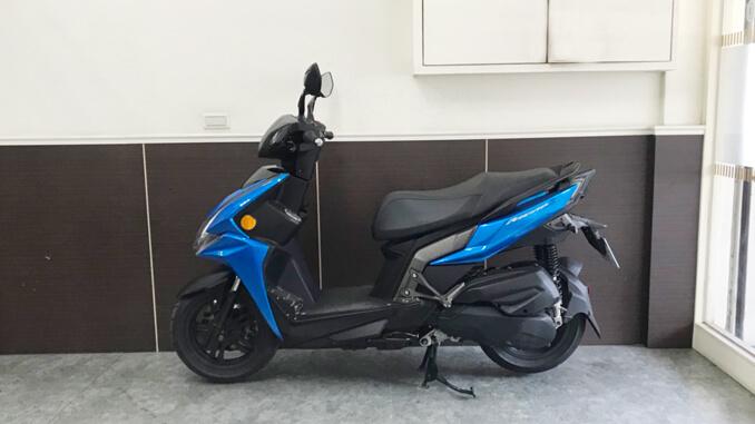流當機車-光陽 KYMCO RACING S 150 藍色-4