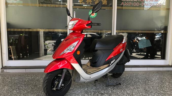 流當機車-三陽SYM 風動 125-1