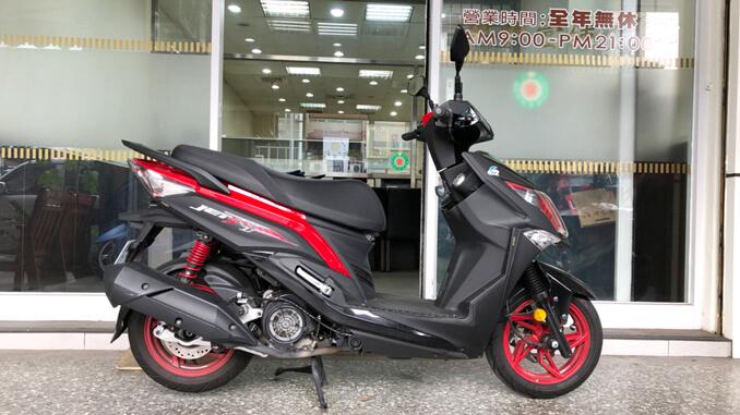 流當機車-三陽SYM JET 125-4