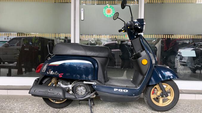 流當機車-摩特動力PGO J-BUBU 125石青藍-4