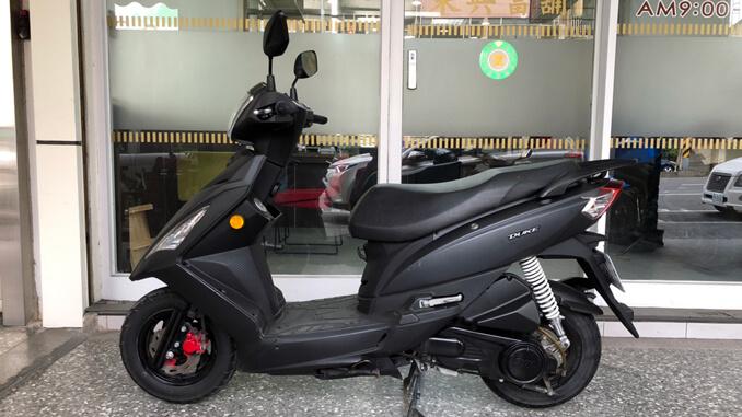 流當機車-三陽SYM DUKE 125-2