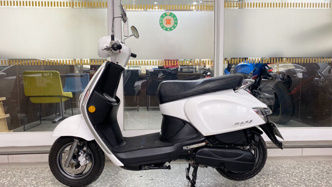流當機車-光陽KYMCO MANY 110 白色-2