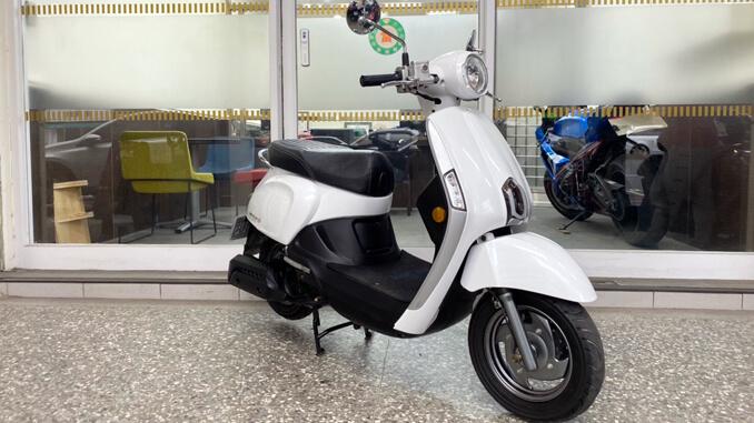 流當機車-光陽KYMCO MANY 110 白色-3