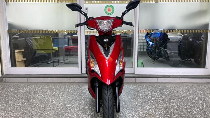 流當機車-光陽KYMCO VJR125 ABS 紅色-1