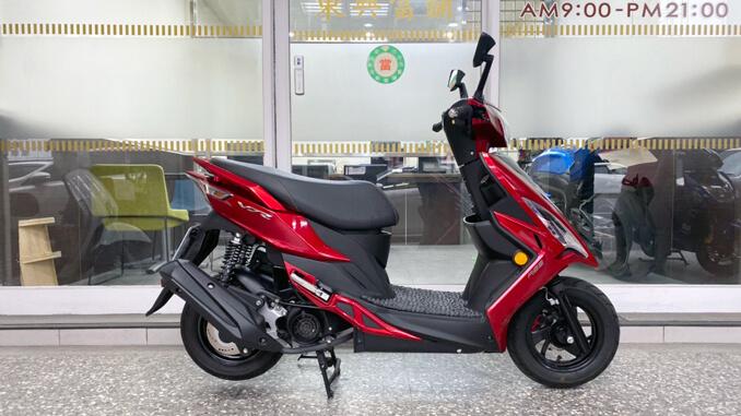 流當機車-光陽KYMCO VJR125 ABS 紅色-5