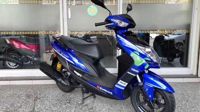 流當機車-山葉YAMAHA 勁戰4代 125 特仕版 藍色-2